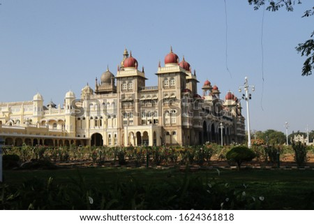 Mysore palace. Indian architecture. Best place to visit in south India.  #1624361818