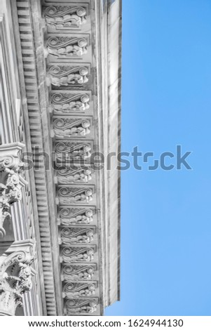 Marble columns in ancient greek architecture #1624944130