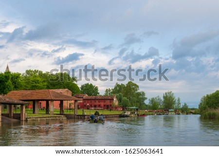 nature sceneries inside the Mincio Regional Park, Mantua #1625063641