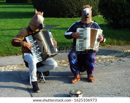 Viennese street musicians and entertainers - Vienna, Austria #1625106973