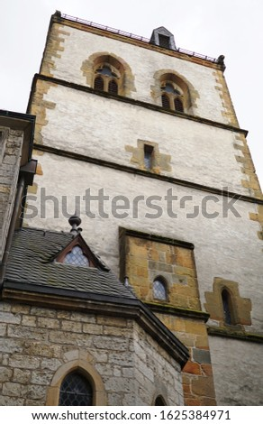 a church in Halle Westfalia Germany #1625384971