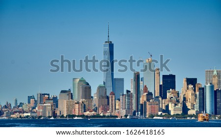 New York City Skyline in 2015
