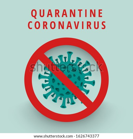 Illustrations concept coronavirus COVID-19. virus wuhan from china. Vector illustrate. #1626743377