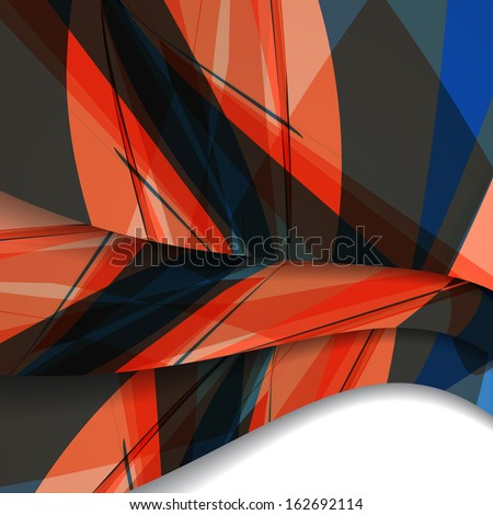 Abstract illustration, colorful digital composition. #162692114