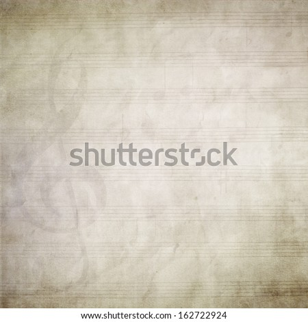 A blank page of sheet music