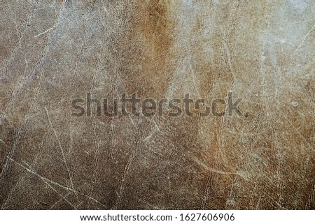 Brown Distressed Leather as a Background #1627606906