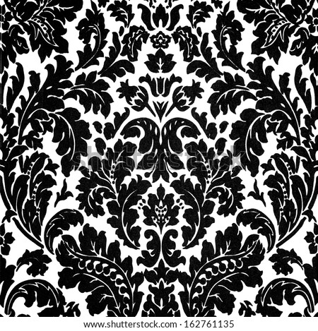 black and white baroque design