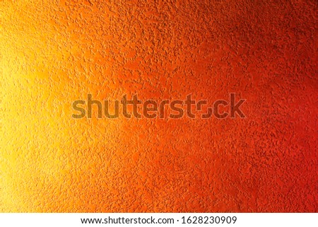 Vintage orange-brown for design background. Bright backdrop. Art plaster. Illuminated surface. Abstract image. Bitmap image.e. Bitmap image. #1628230909