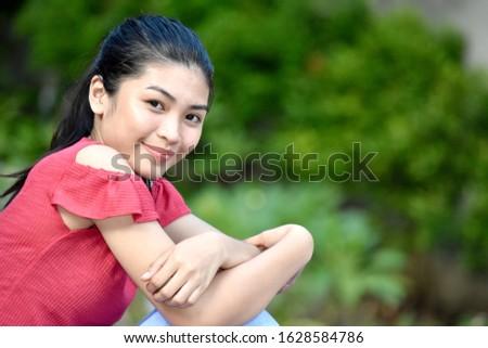 A Pretty Filipina Female Youngster #1628584786