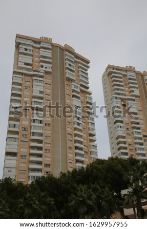 high-rise residential building. Residential building #1629957955