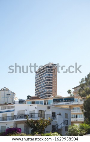 high-rise residential building. Residential building #1629958504