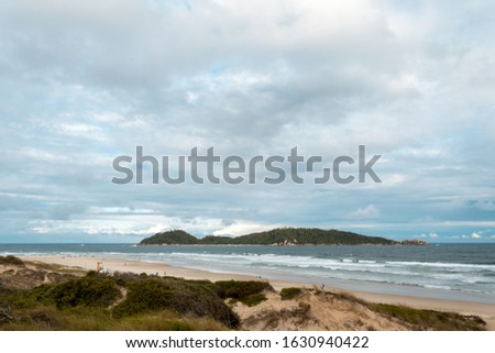 Florianopolis, Brazil. Panoramic view of the Campeche Island (Ilha do Campeche), in the south of Florianopolis. #1630940422