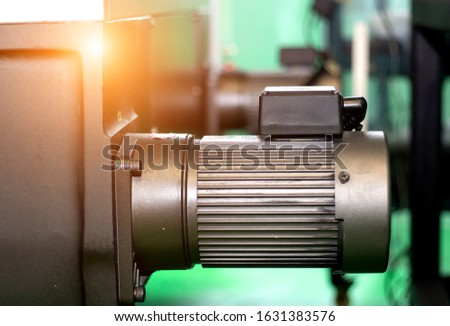 Motor and hydraulic pump to build complex technical systems #1631383576