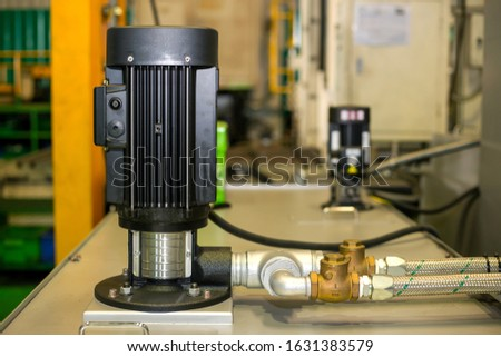 Motor and hydraulic pump to build complex technical systems #1631383579