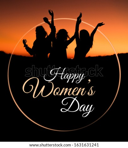 happy women's day poster for instagram facebook or any social media, high quality jpeg image ready for upload