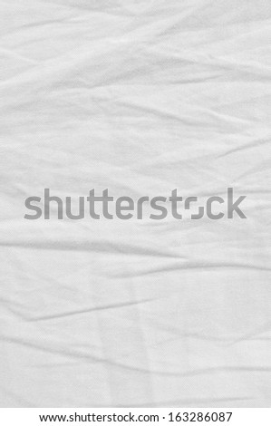 White Natural Light Linen Plus Cotton Chinos Texture, Detailed Closeup, rustic crumpled vintage textured fabric burlap diagonal twill jeans canvas pattern, vertical copy space background #163286087