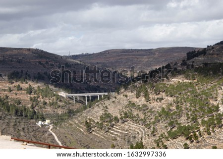 Hills of juda. The hills of Jerusalem. #1632997336