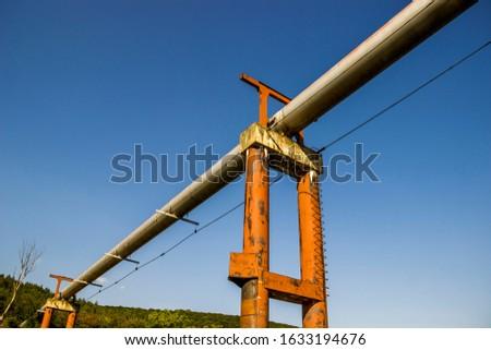 gas pipeline under the Dniester river, Ternopil region of Western Ukraine #1633194676