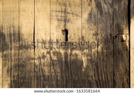 grunge wood fence weathered and old #1633581664