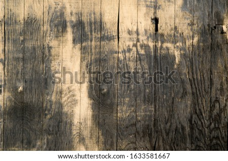 grunge wood fence weathered and old #1633581667