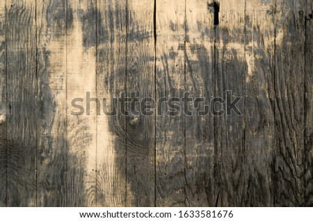 grunge wood fence weathered and old #1633581676
