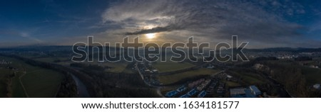 drones pictures waterfall and panorama #1634181577