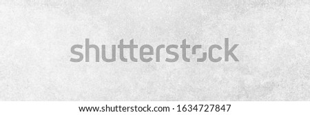 Panoramic grey paint limestone texture background in white light seam home wall paper. Back flat wide concrete stone table floor concept surreal granite quarry stucco surface grunge panorama landscape Royalty-Free Stock Photo #1634727847