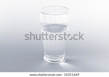 Glass Water (Blue Tint) #16351669
