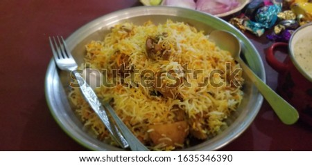 Food pictures yummy Biryani
