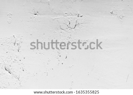Old Wall Plaster Grunge Urban Black And White Texture, Dark Weathered Overlay Distress Pattern Sample, Abstract Background for Texturing #1635355825