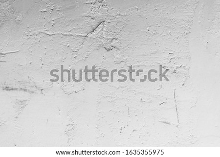 Old Wall Plaster Grunge Urban Black And White Texture, Dark Weathered Overlay Distress Pattern Sample, Abstract Background for Texturing #1635355975