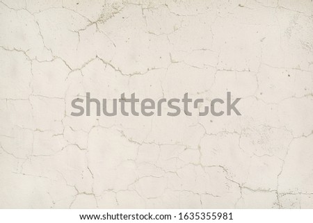 Old Wall Plaster Grunge Urban Black And White Texture, Dark Weathered Overlay Distress Pattern Sample, Abstract Background for Texturing #1635355981