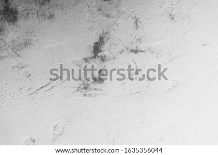 Old Wall Plaster Grunge Urban Black And White Texture, Dark Weathered Overlay Distress Pattern Sample, Abstract Background for Texturing #1635356044