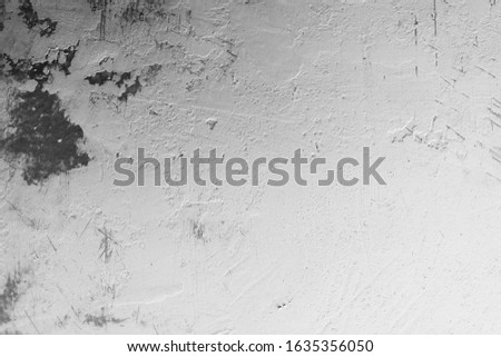 Old Wall Plaster Grunge Urban Black And White Texture, Dark Weathered Overlay Distress Pattern Sample, Abstract Background for Texturing #1635356050