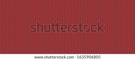 3d material hexagon red spiderman nano suit texture background