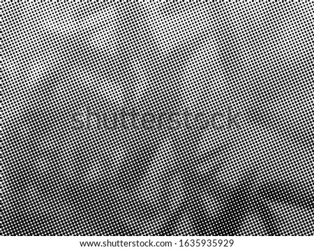 Halftone Dots Pattern . Halftone Dotted Grunge Texture . Abstract Dots Overlay Texture . Light Distressed Background with Halftone Effects. Ink Print Distress Background . Dots Grunge Texture. #1635935929