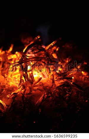 the heat glows in the fire #1636599235
