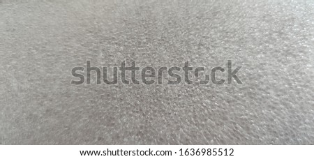 Photo of White Texture Polyfoam material. This material is a plastic sheet of polystyrene. #1636985512