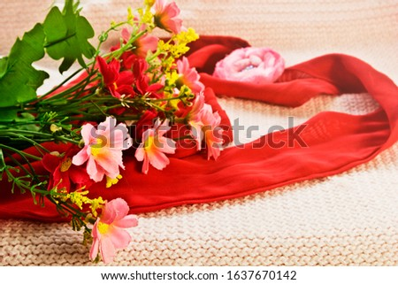 Greeting card. Greeting card with place for an inscription. Happy Valentine's Day. From March 8th. #1637670142