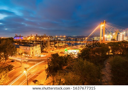 Bridge in Odessa. Odessa, Odessa Oblast, Ukraine. #1637677315