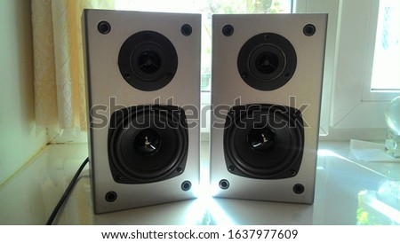 acoustic system. sound system. speakers #1637977609