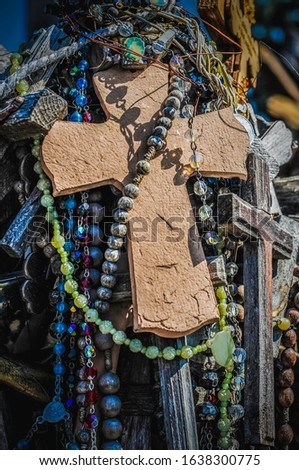 Hill of Crosses in Lithuania #1638300775
