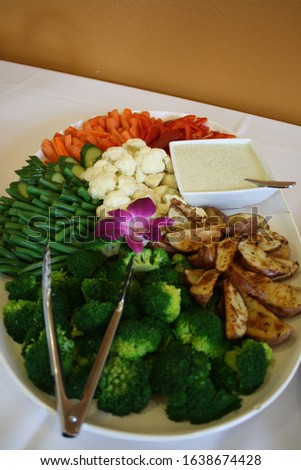 Food, party food, buffet, table of food, serving a group, catering, catered #1638674428