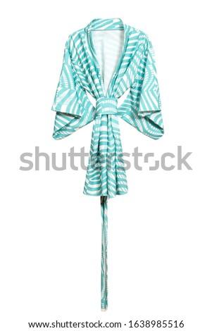 Female robe isolated on white background #1638985516