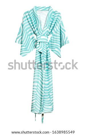 Female robe isolated on white background #1638985549