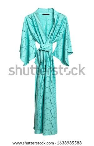 Female robe isolated on white background #1638985588