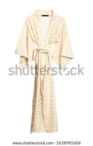 Female robe isolated on white background #1638985606