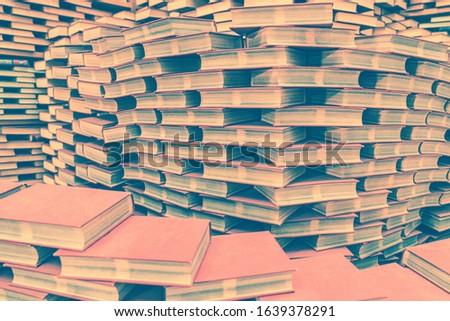 Stacks of books on books #1639378291