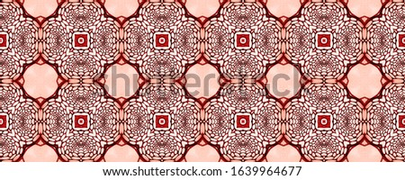Wedding vintage tile seamless. Ethnic Ornament Print. Old Muslim wall Natural Colors. Embroidery net. Antique Element Hand Painted Kaleidoscope Effect. Floral Pattern. Floral Elements #1639964677