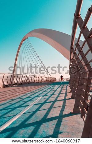 Dubai Tolerance Bridge running track Amazing modern architecture Best travel and tourism spot in Dubai #1640060917